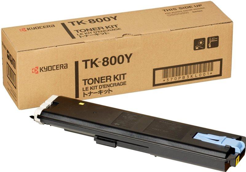 Kyocera Toner Original für FS-C8008N, yellow