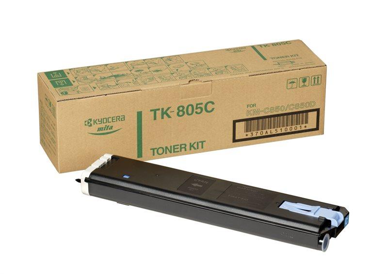 Kyocera Toner Original für KM-C805, cyan