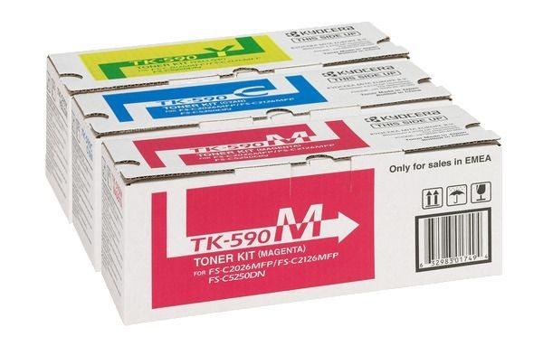 Kyocera Tonerpaket CMY -TK590-CMY