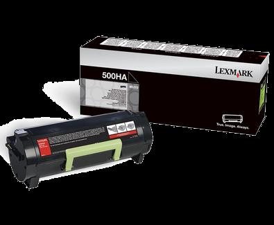 Lexmark 500HA Toner schwarz - 50F0HA0