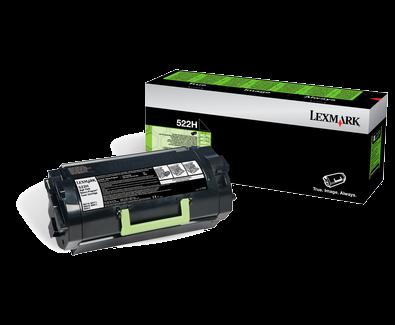 Lexmark 522H Rückgabe-Toner schwarz - 52D2H00