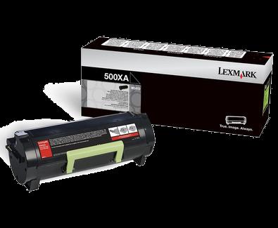 Lexmark 600XA Toner schwarz - 60F0XA0