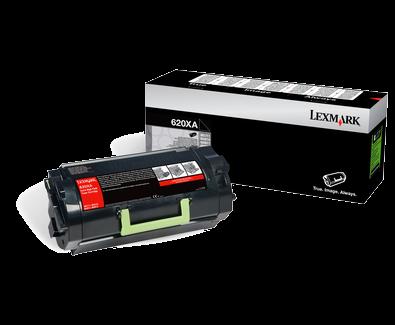 Lexmark 620XA Toner schwarz - 62D0XA0