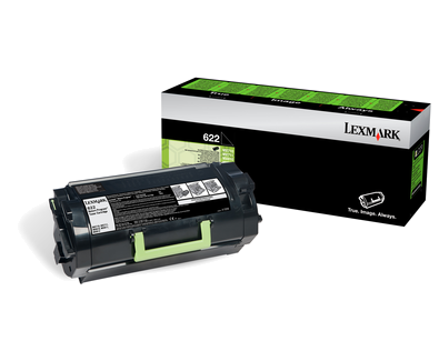 Lexmark 622 Rückgabe-Toner schwarz - 62D2000