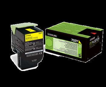 Lexmark 702Y Rückgabe-Toner gelb - 70C20Y0