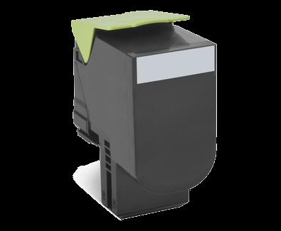 Lexmark 800S1 Toner schwarz - 80C0S10