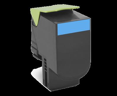 Lexmark 800S2 Toner cyan - 80C0S20
