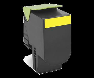 Lexmark 802HY Rückgabe-Toner gelb - 80C2HY0