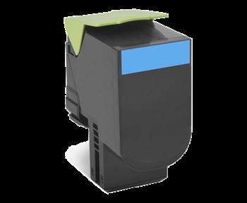 Lexmark 802XC Rückgabe-Toner cyan - 80C2XC0