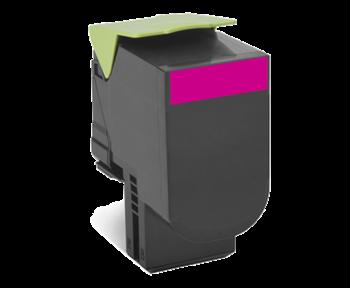 Lexmark 802XM Rückgabe-Toner magenta - 80C2XM0