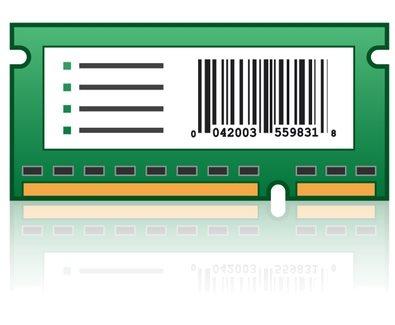 Lexmark Formular- und Barcode-Karte