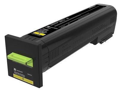 Lexmark HC Rückgabe-Tonerkassette gelb