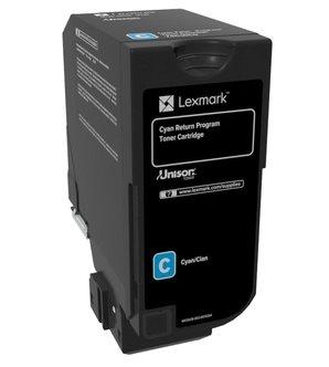 Lexmark HC Rückgabe-Tonerkassette Cyan