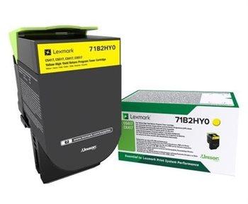 Lexmark Original - Rückgabe-Toner gelb