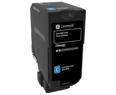 Lexmark Original HC Toner cyan