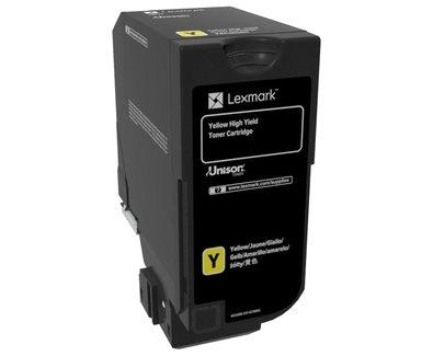 Lexmark Original HC Toner gelb