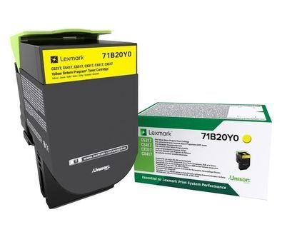 Lexmark Original - Rückgabe-Toner gelb -  71B20Y0