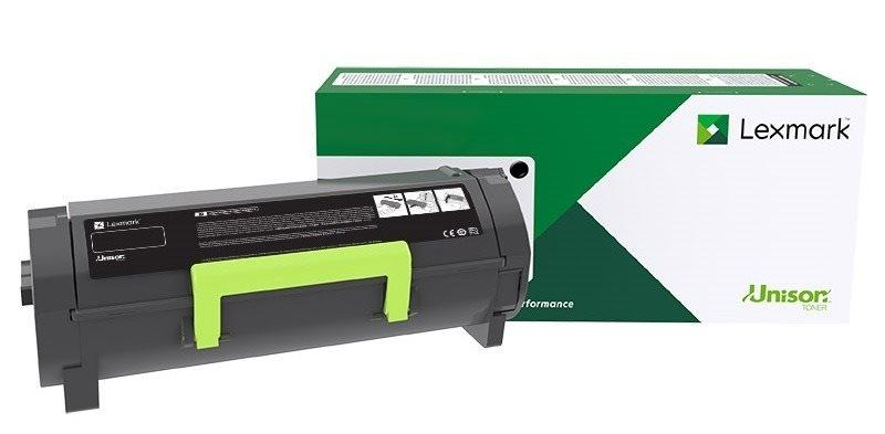 Lexmark Original Rückgabe - Toner schwarz - 58D2000