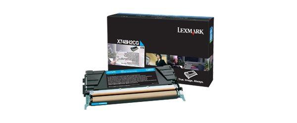 Lexmark Original Toner cyan