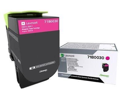 Lexmark Original - Toner magenta -  71B0030