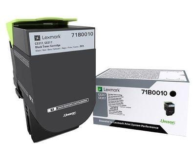 Lexmark Original - Toner schwarz -  71B0010