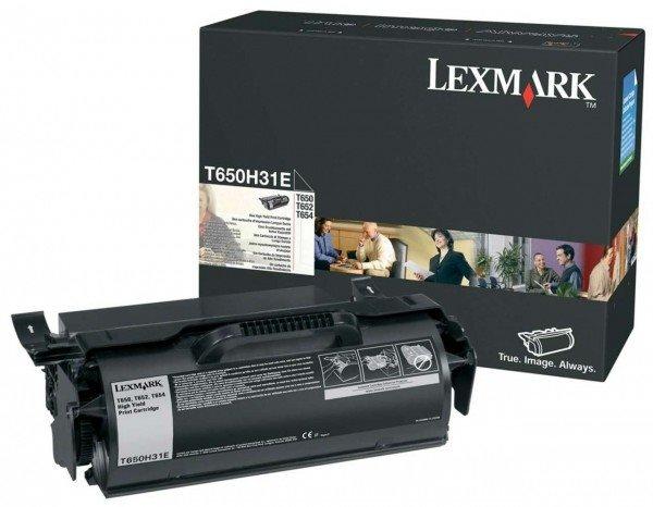 Lexmark Original - Toner schwarz - T650H31E