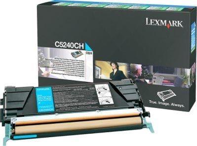 Lexmark Rückgabe-Tonerkassette cyan HC für C524