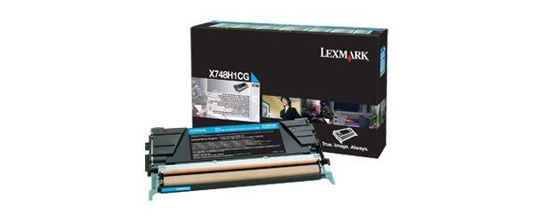 Lexmark Rückgabe-Tonerkassette Cyan
