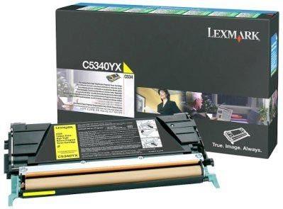Lexmark Rückgabe-Tonerkassette gelb HC für C534
