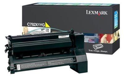 Lexmark Rückgabe-Tonerkassette gelb HC für C782