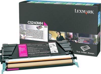 Lexmark Rückgabe-Tonerkassette magenta HC für C524