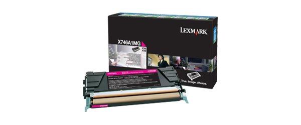 Lexmark Rückgabe-Tonerkassette Magenta