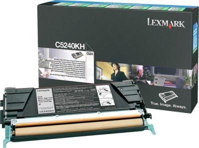 Lexmark Rückgabe-Tonerkassette schwarz für C524