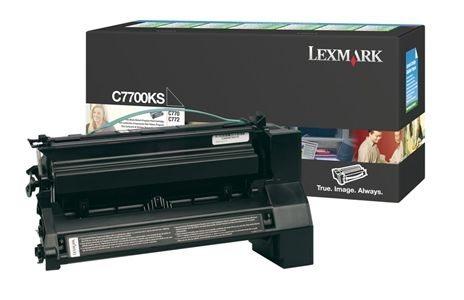 Lexmark Rückgabe-Tonerkassette schwarz für C770