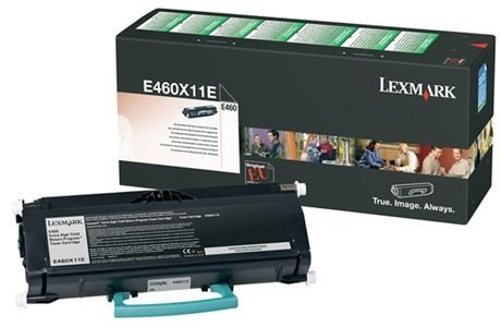 Lexmark Rückgabe-Tonerkassette schwarz HC für E460
