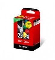 Lexmark Rückgabetinte Nr. 23+24 Kombipack