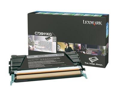 Lexmark Rückgabetonerkassette gelb für C736N