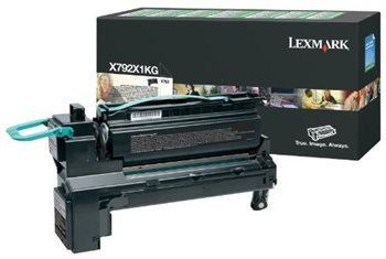Lexmark Rückgabe-Toner schwarz für X792