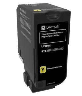 Lexmark Rückgabe-Tonerkassette Gelb
