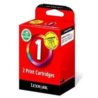 Lexmark Tinte Doppelpack farbig Nr. 1 für Z730/735