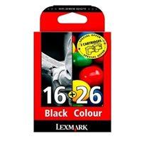 Lexmark Tinten-Kombip Nr. 16+26 f. X1270 schw/farb