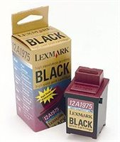 Lexmark Tintenp. Orig. Optra C40, schwarz -12A1975
