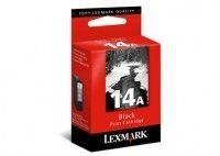 Lexmark Tintenpatrone Nr. 14A schwarz für Z2320