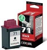 Lexmark Tintenpatrone Nr. 71 HC schwarz für Z42