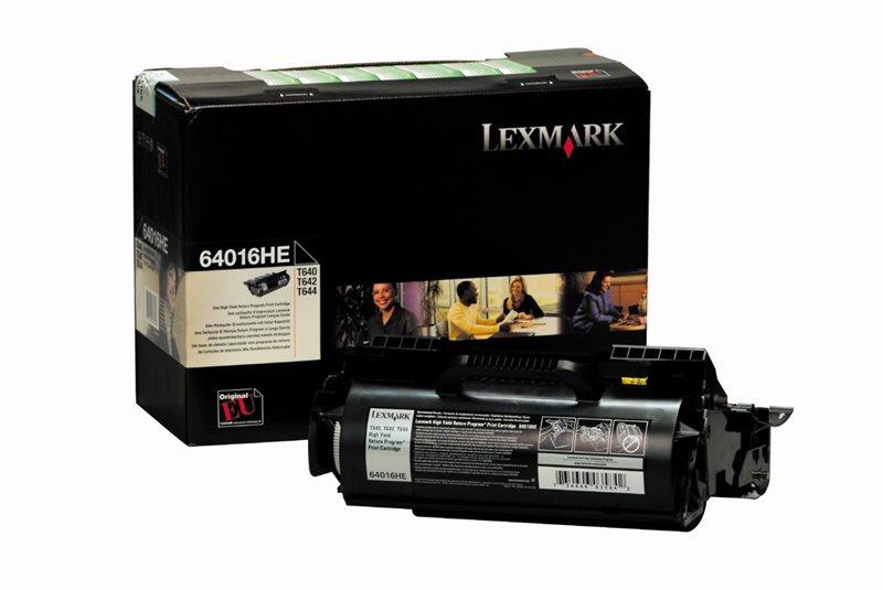 Lexmark Toner-Rückgabe-Druckkassette schwarz, HC,