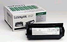 Lexmark Toner schwarz f. Optra T520, 12A6830
