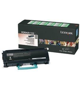 Lexmark Toner schwarz für X264, X264A11G