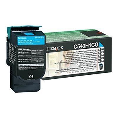 Lexmark Tonerkassette cyan für C540, C540H1CG