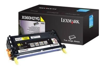 Lexmark Tonerkassette gelb HC für X560, X560H2YG