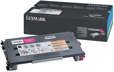 Lexmark Tonerkassette magenta, original, C500H2MG